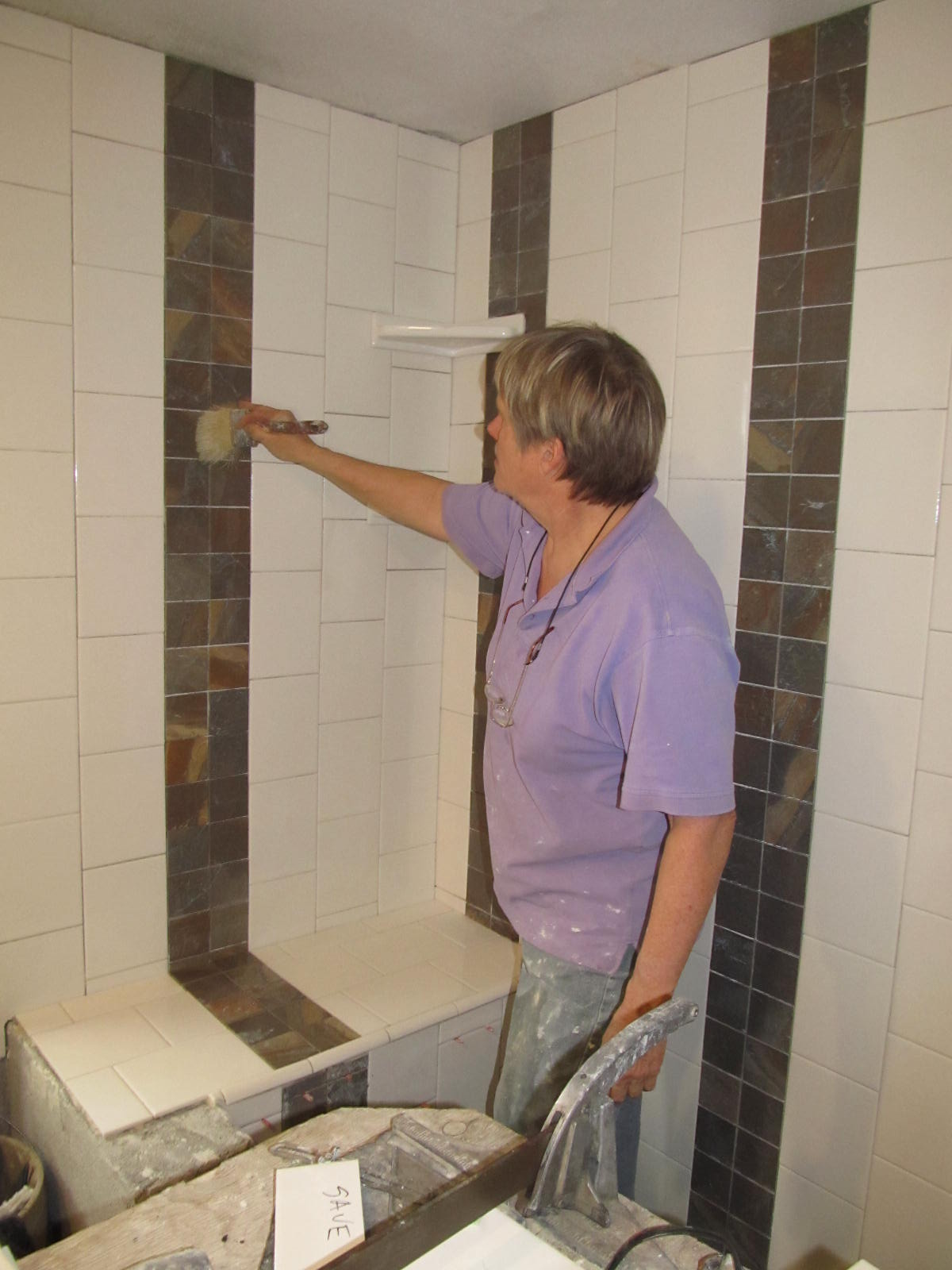 Shower Installation Stoddard Tile Work Diary