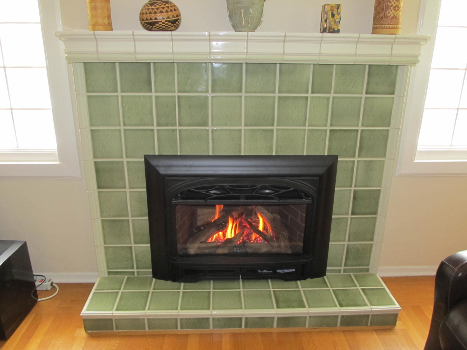 tile over brick fireplace charming fireplace rh charmingfireplace com