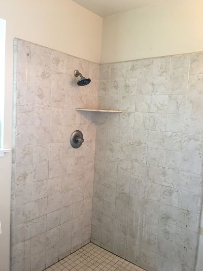 Dirty Tile Shower To Clean