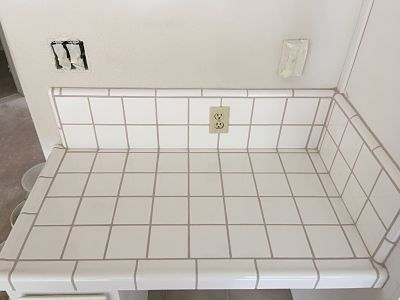 Stoddard tile work diary for How to make grout white again