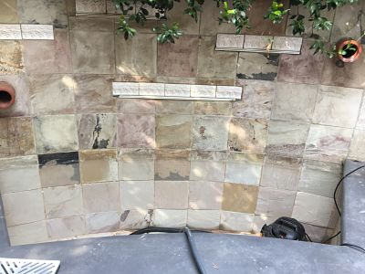 Stoddard Tile Work Diary - Best grout for outdoor tile