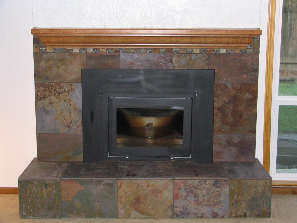 pics for slate fireplace surrounds