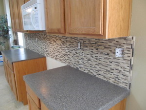 kitchen backsplash edges staggered mosaic kitchen backsplash stoddard tile work diary 2210